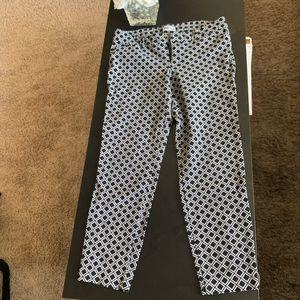 Old navy checkered capri pants